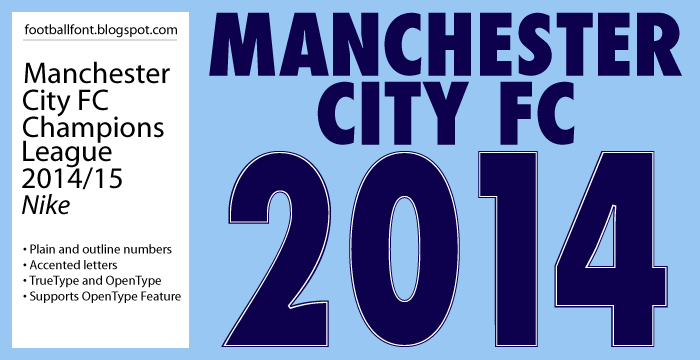 Manchester City Champions League 2015 Numbers