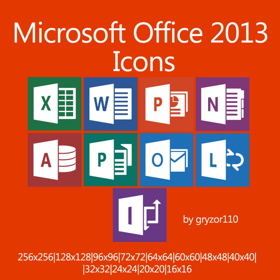 17 Hyperlink PowerPoint 2013 Icon Images