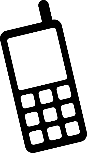 Mobile Phone Icon Clip Art