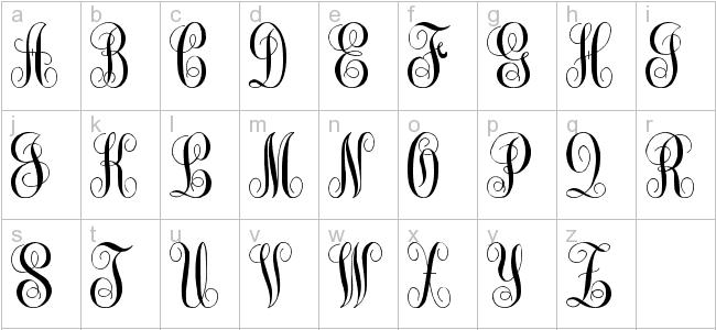 Monogram KK Font Free Download
