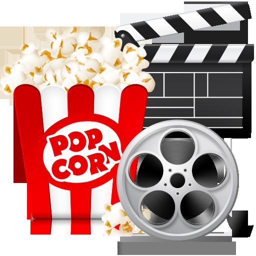 5 Movie Popcorn Icon Images