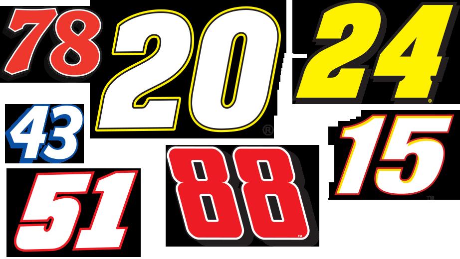 NASCAR Car Numbers