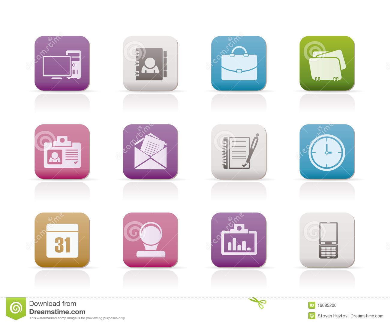 Office Web Application Icons