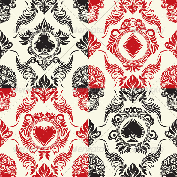 Playing Card Pattern