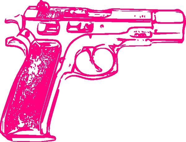 13 Pink Gun Vector Art Images