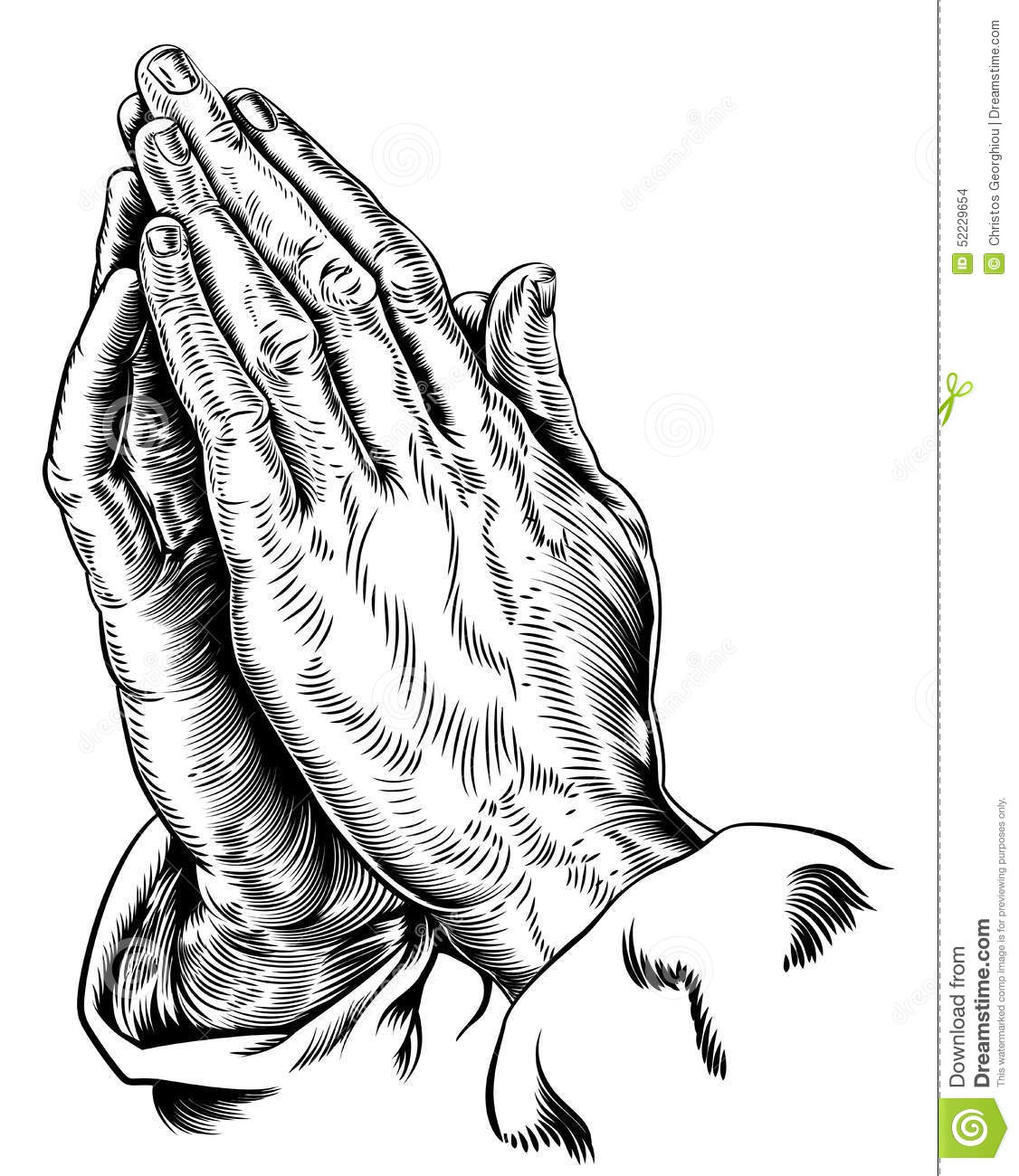 13 Crusafix And Praying Hands Vector Images