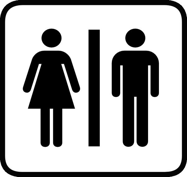 Restroom Symbol Clip Art Free