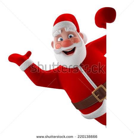 Santa Claus Symbol Christmas