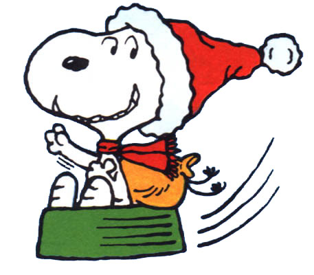 12 Snoopy Emoticons Christmas Images