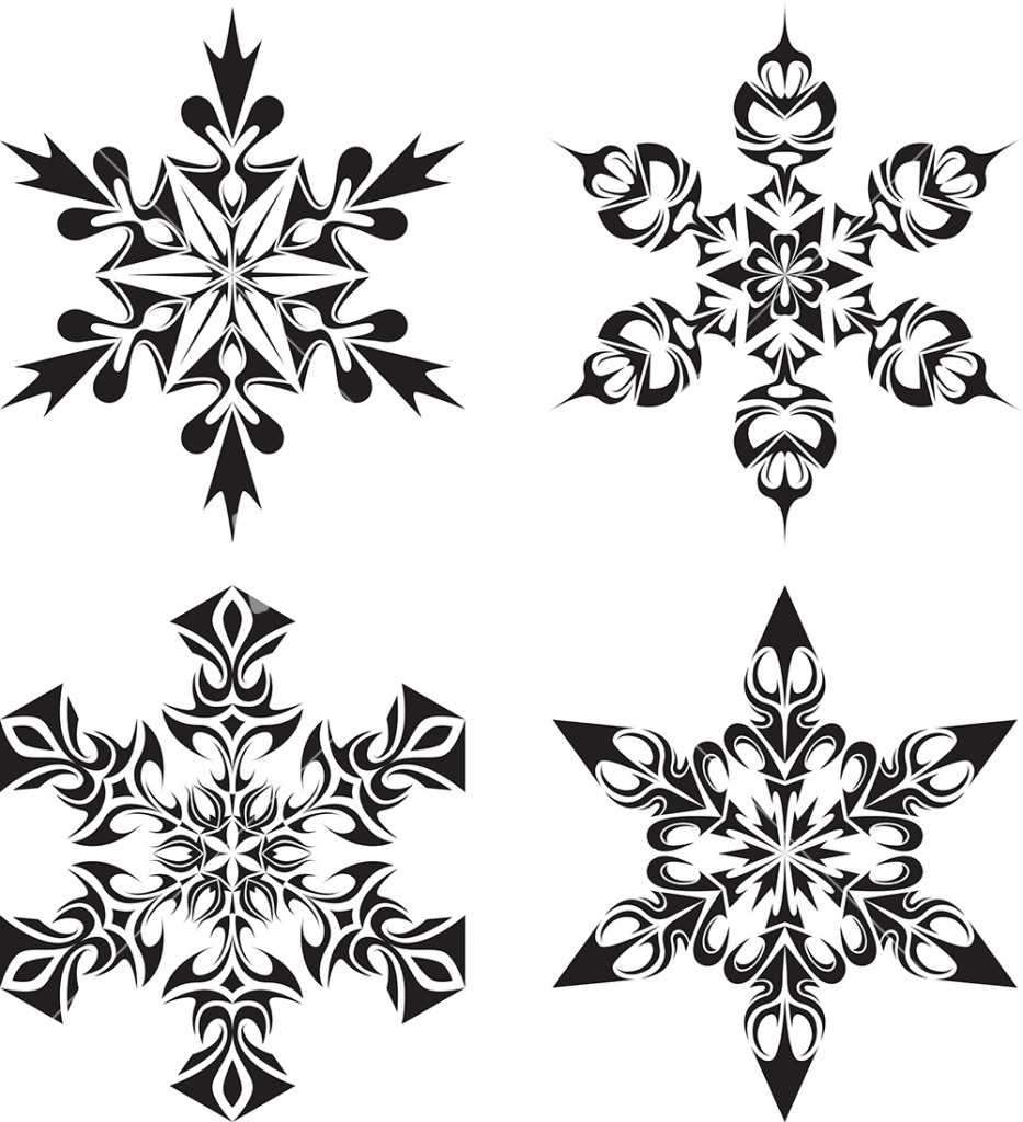 Snow Flake Vector Graphic Free