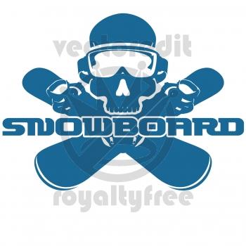 Snowboarding Logos