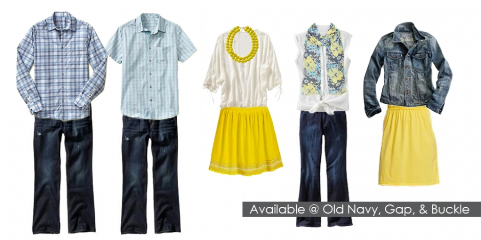 Spring Family Picture Clothing Ideas