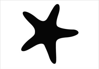 17 Star Fish Silhouette Vector Art Images