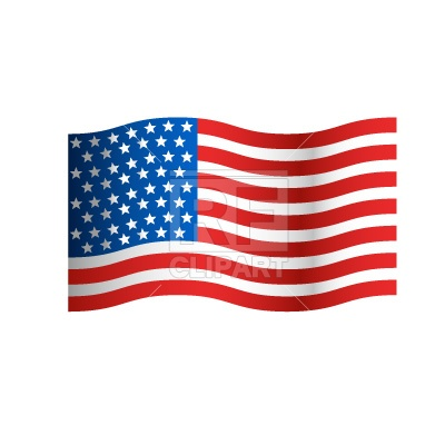 Stars and Stripes Flag Clip Art