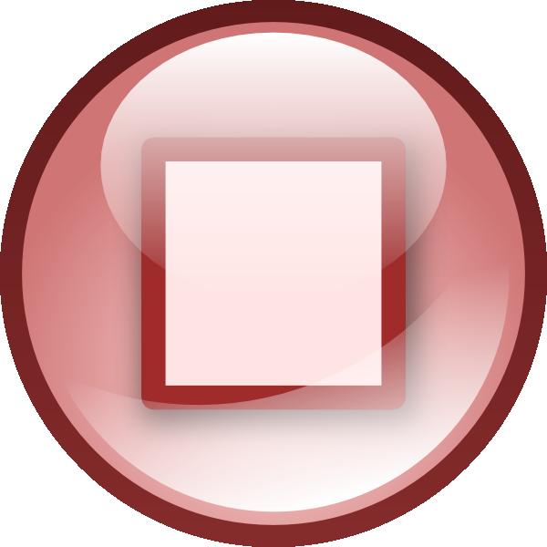 Stop Button Clip Art