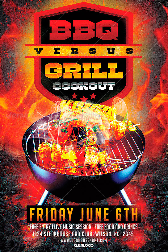 14 cookout flyer template psd images cookout flyer template summer cookout flyer templates for Cookout flyer templates
