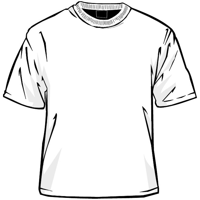 Tee Shirt Template Vector