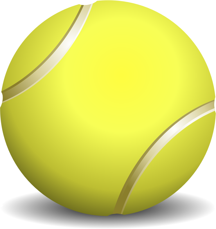 Tennis Ball Clip Art Free