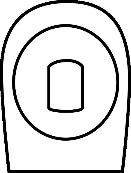 Toilet Symbol Clip Art