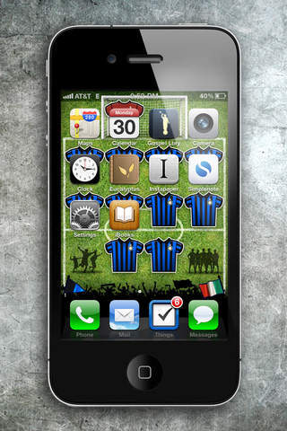 Top of Screen Icons On iPhone 5S