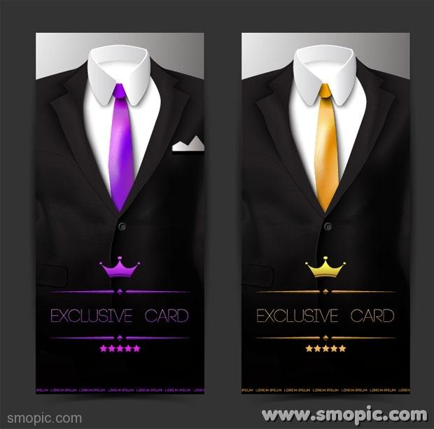 Tuxedo Suit Design Template