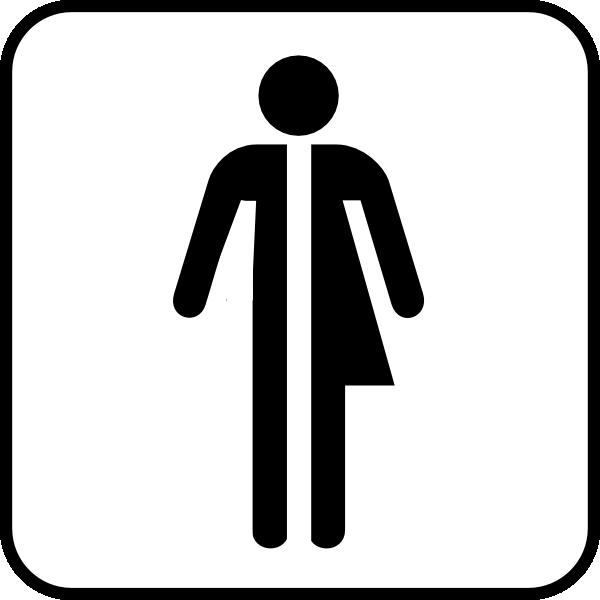 Unisex Bathroom Logo
