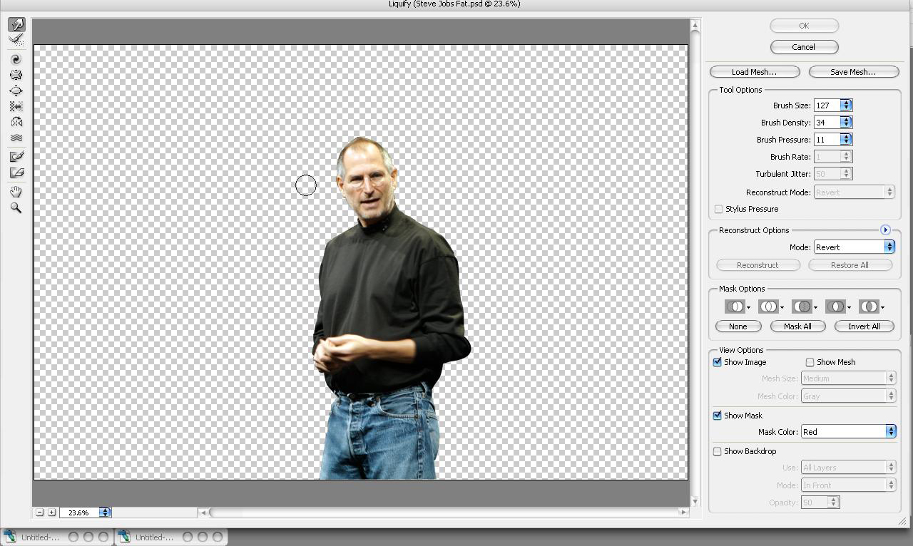 How to Make Yourself Look Thinner With Photoshop: 15 Steps