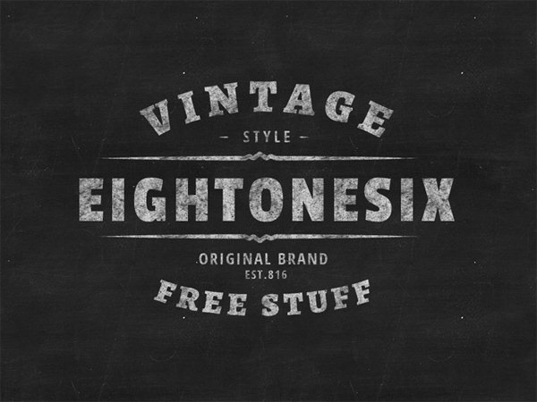 Vintage Logo Badge Template Free