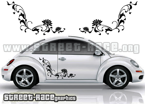 15 VW Beetle Decals Graphics Images