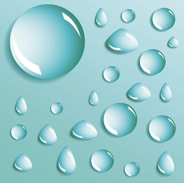 Water Drop Vector Free Download