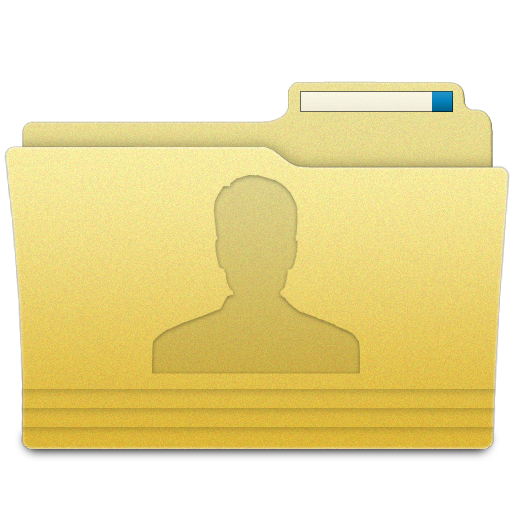 11 User Folder Icon PNG Images