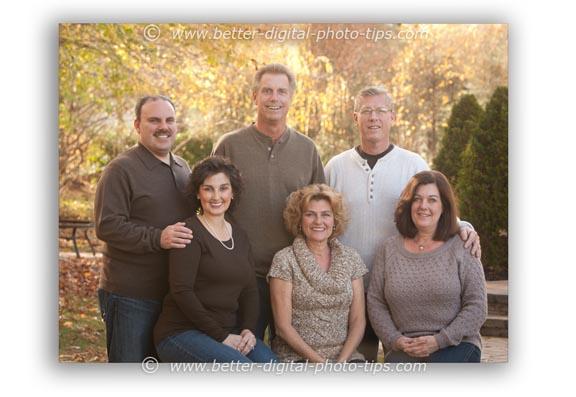 Adult Family Portrait Ideas