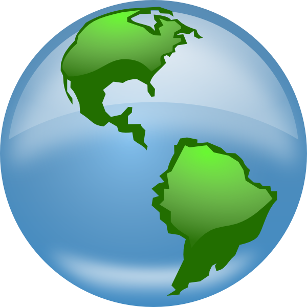 Animated World Globes Clip Art