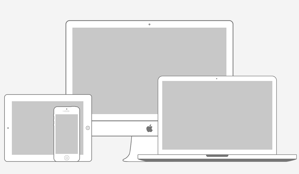 Apple Product Mockups PSD