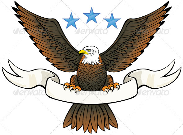 15 Bald Eagle Logo Design Graphic Images