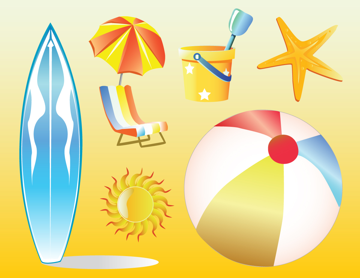 Beach Vacation Clip Art Free