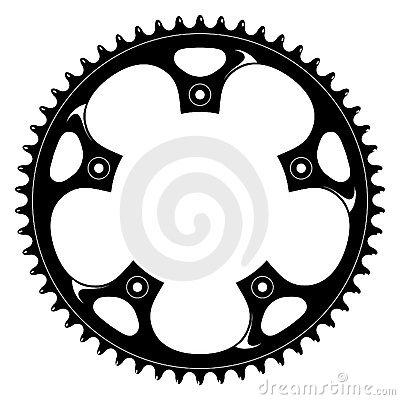 18 Bike Gear Vector Images