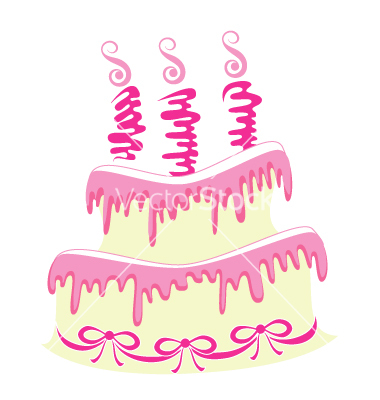 12 Vector Stylized Birthday Cake Images Birthday Cake Vector