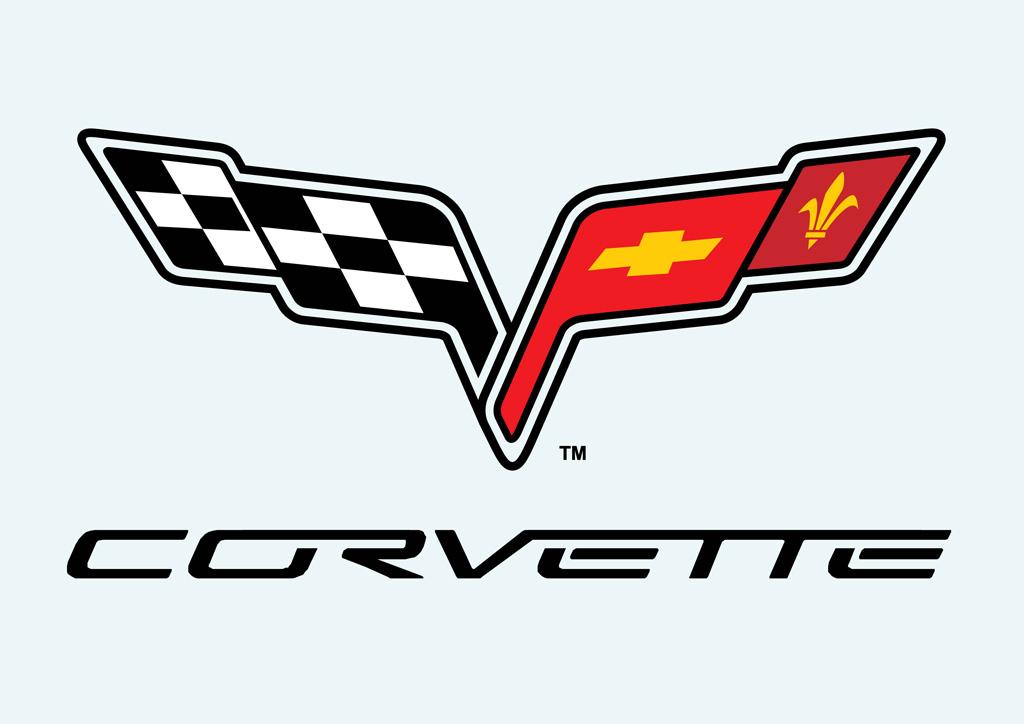 C6 Corvette Logo Clip Art
