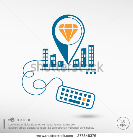 City Lines Shutterstock Icons