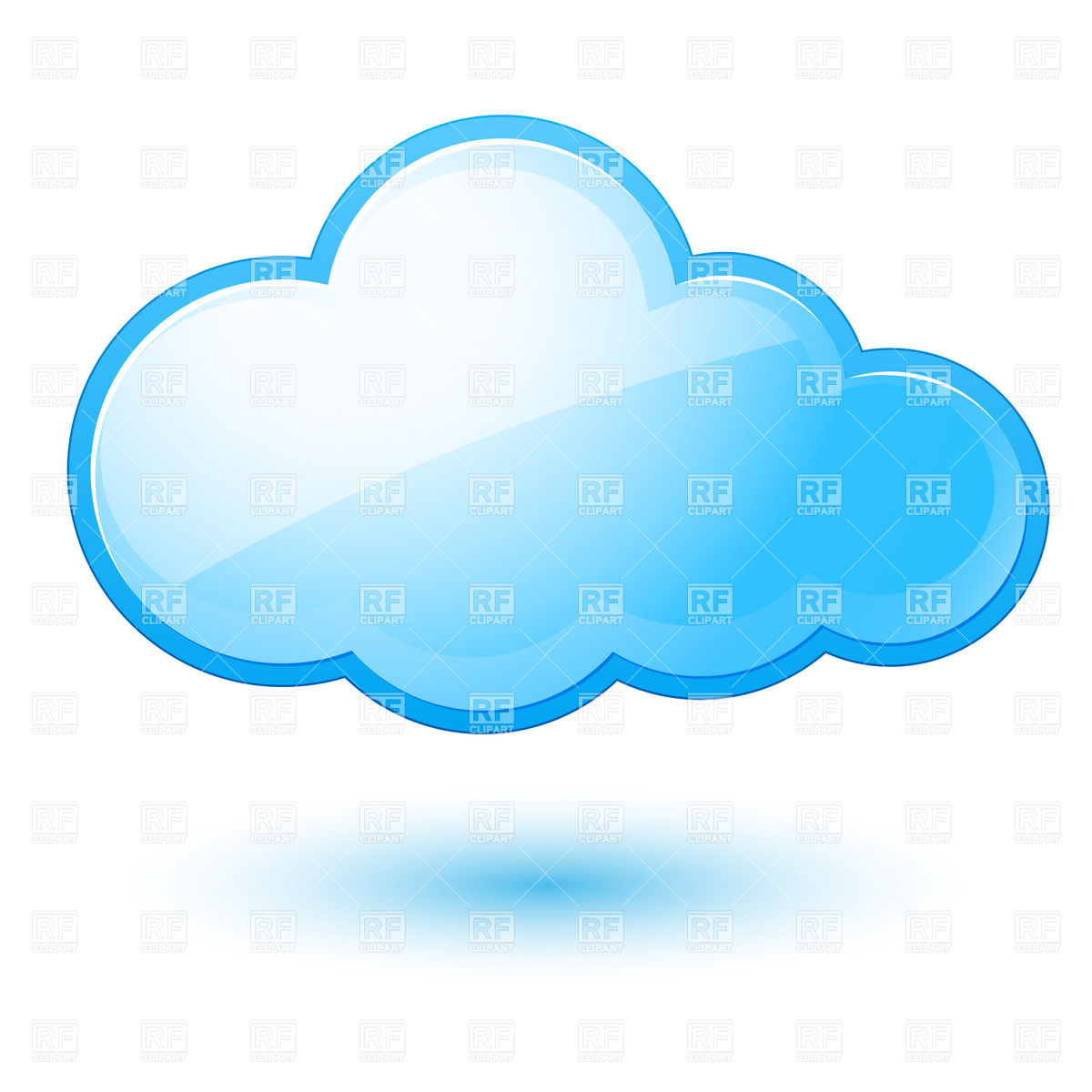18 Vector Cloud Icon Images