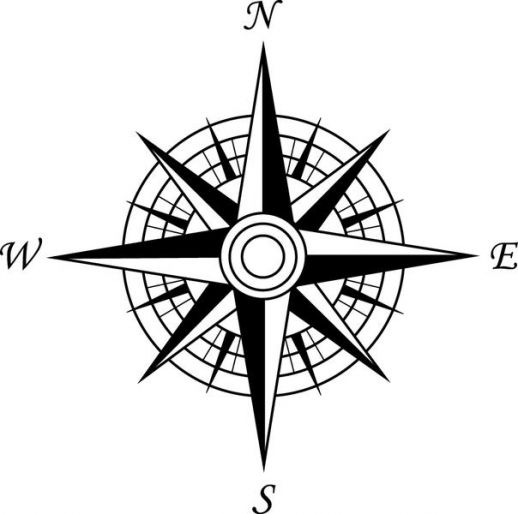 20 Vector Compass Rose Images