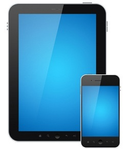 Computer Tablet Phone Icon