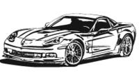 Corvette ZR1 Clip Art