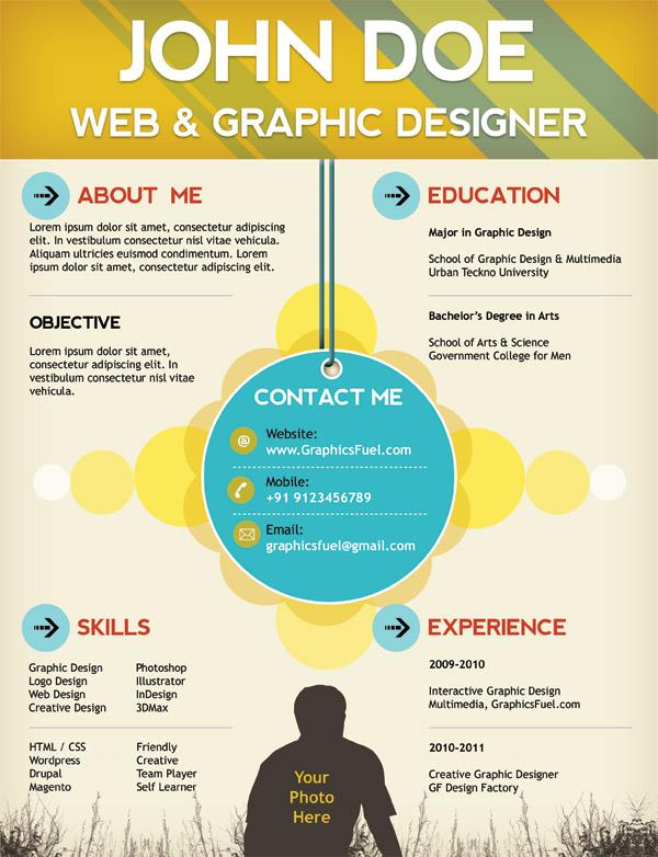 Creative Resume Design Templates
