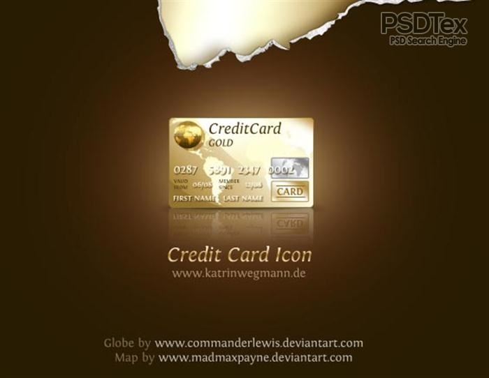 Credit Card Design Template Photoshop