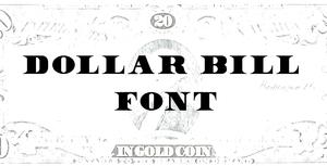 5 Dollar Bill Number Font Images
