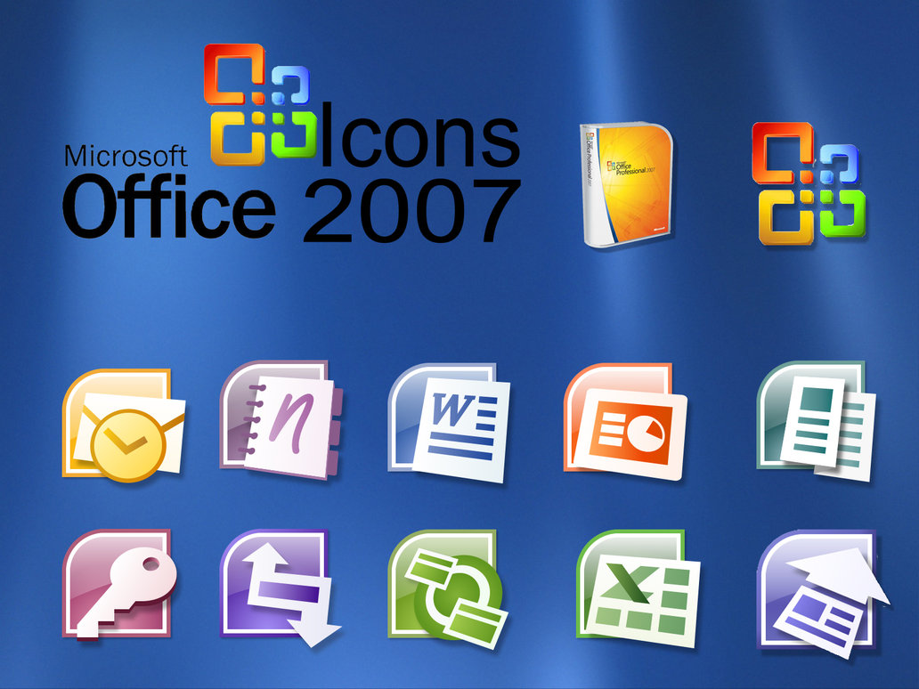 Download Microsoft Office 2007 Icons