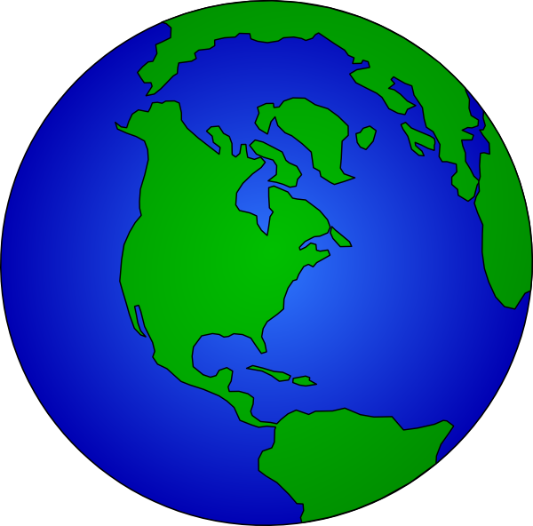 Earth Globe Clip Art Free