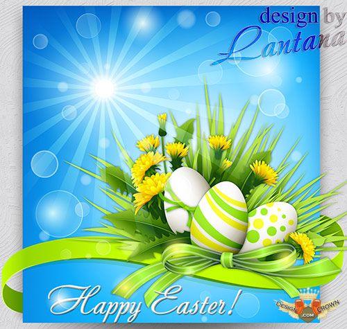 10 PSD Easter Spring Images